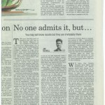 Opinion piece on racism